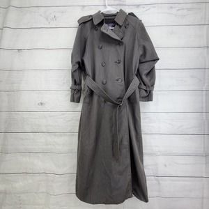 Burberry Vintage Trench Coat With Waist Cincher